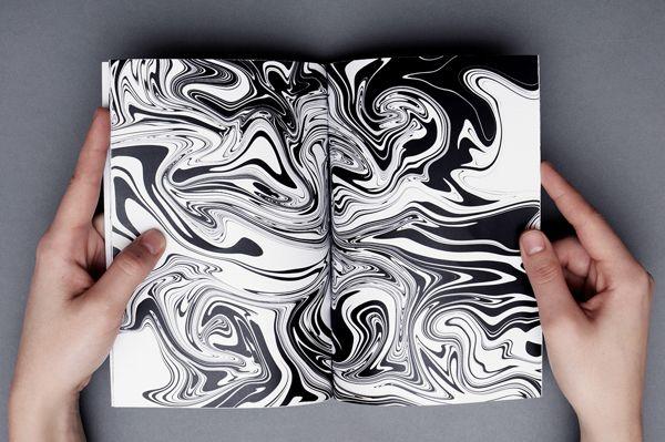 Papier marbré / Eniko Deri