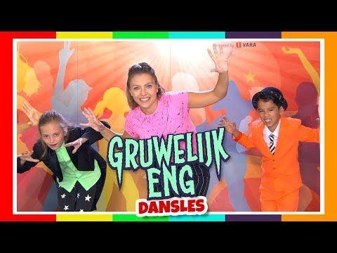 Kinderen voor Kinderen - Gruwelijk eng - dansles - YouTube