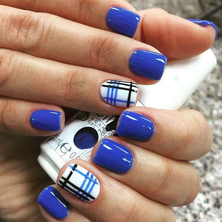 There are many current trends of blue nail art designs to choose from. These designs allow you to look cool and casual. Try a combination of two or three shades of blue in simple stripes or floral nail art to have an entirely new version of nail designs. Related PostsAmazing Blue Nail Art Ideas 2017Gray Nail Designs and Ideas 2017Easter