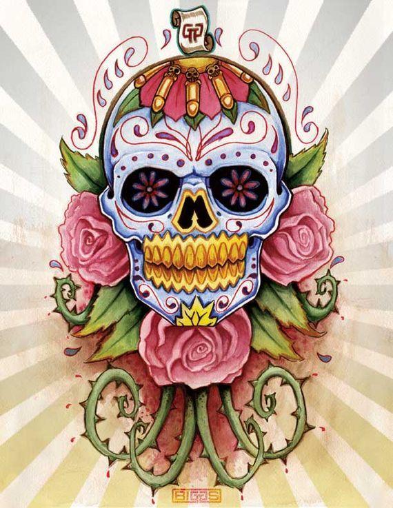 Sugar Skull Designs – Inspiration from Mexican Folk Art