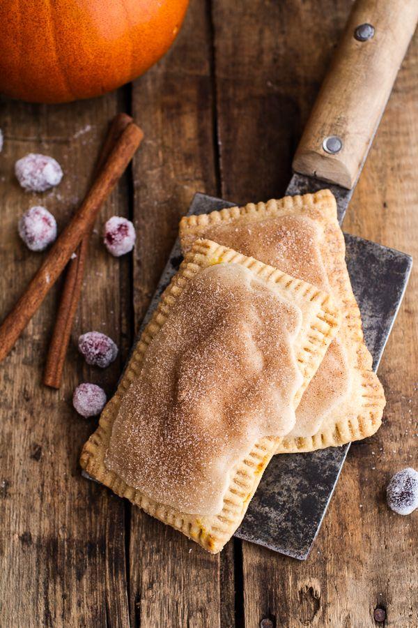 Cinnamon Sugar Nutella Swirled Pumpkin Pie Pop-Tarts ...