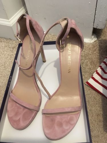 5a94579cbcb Stuart Weitzman 9 Nudistsong Pink Candy Suede