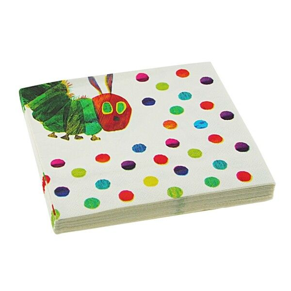 The Hungry Caterpillar Party Napkins