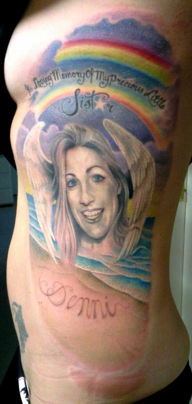 Tribute Portrait  Tattooist: Daniel Brandt Electric Expressions Tattoo Studio  Margate, QLD, Australia  PH: (07) 38895966