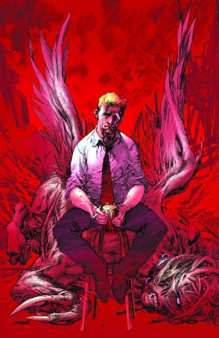 John Constantine: Hellblazer by Jim Lee
