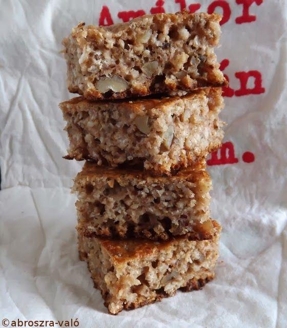 Kipróbált és bevált receptek: Zabpelyhes sütemény