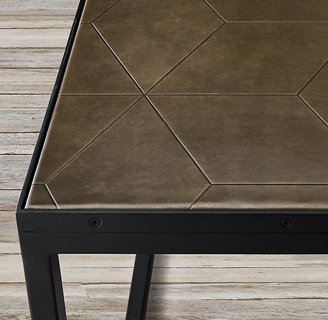 Metal Parquet Coffee Table Coffee Table Metal Table