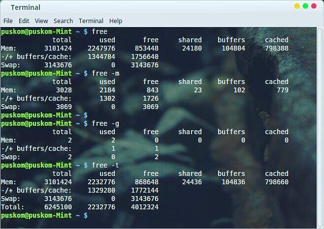 Mengenal Perintah 'free' di #Linux  Kebanyakan distro Linux saat ini telah dibuat se-userfriendlymungkin sehingga siapapun pengguna akan mudah memahami antarmuka Linux sama seperti halnya mereka mengenal antarmukaplatformWindows karena Linux juga telah menggunakan tampilan gambar (GUI/Graphics User Interface) untuk memudahkan penggunaannya.  Namun dalam kebanyakan kasus seringkali kita diharuskan untuk mengakses perintah teks melalui aplikasi terminal dimana perintah ini harus ditulis dan…