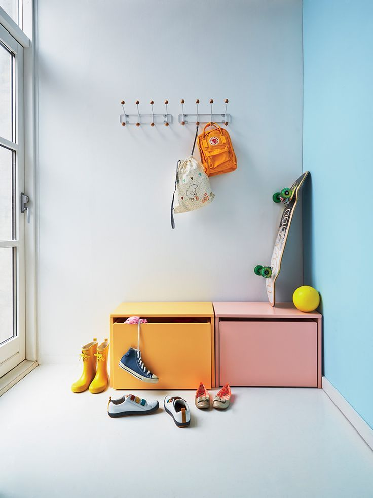 Scandinavian pop color entrance | #vikingtoys