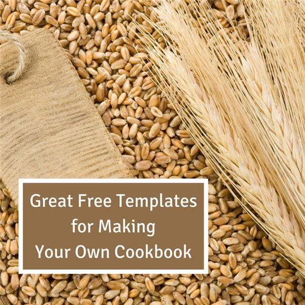 great free templates for making your own cookbook recipes