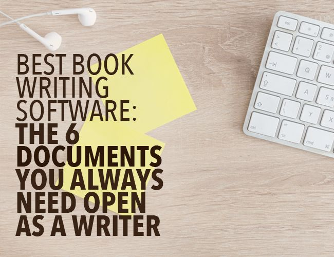 Once you've chosen the best book writing software for your project, optimize your writing time with these six documents to beat distractions.