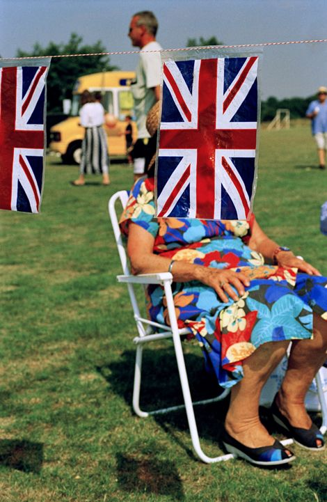 One of the best known photos by Martin Parr - England