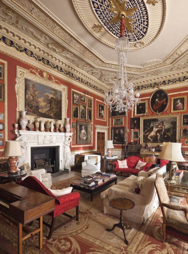 English Country House Drawing Rooms: 9 Best Images About Alec Cobbe On Pinterest