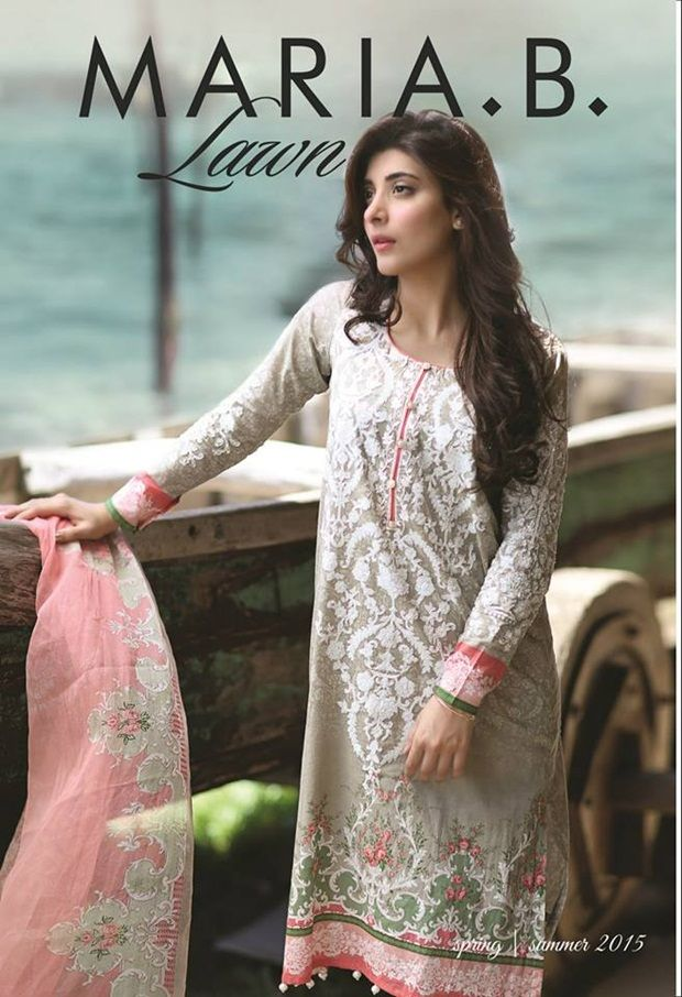 Maria B Lawn Collection 2015 For Summer