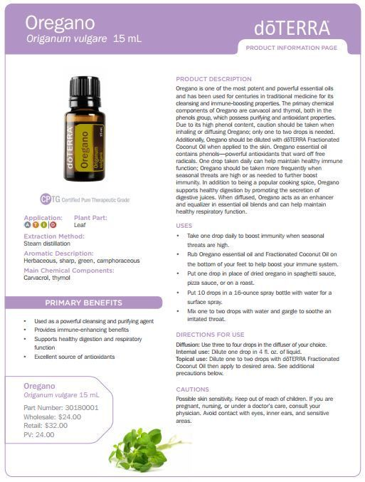 doterra tea tree   uses | doTERRA Oregano Oil 15 ml - My Natural Family