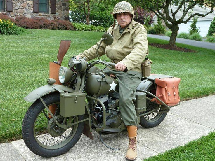 1942 Harley-Davidson WLA Military for Sale | Clic Machines ...