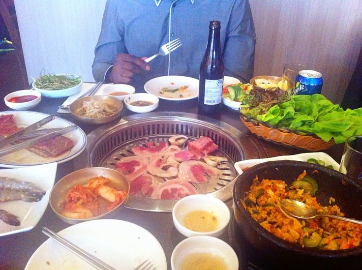 Feast for a king (or queen)! Korean BBQ hits all the right spots! Read the review on panda platter and get yourself down there ᵔᴥᵔ