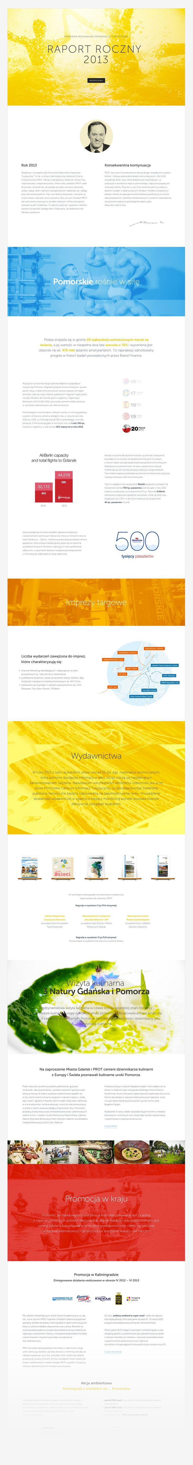 Polish Tourist Board - Online Annual Report ( 2013 )