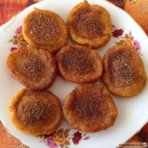 Pumpkin fritters – or Pampoen koekies in Afrikaans – are delicious for breakfast or dessert and it's so quick and easy to make! .....- See more at: http://tastyrecipes.sapeople.com/pumpkin-fritters/#sthash.gS7ZtmUF.dpuf