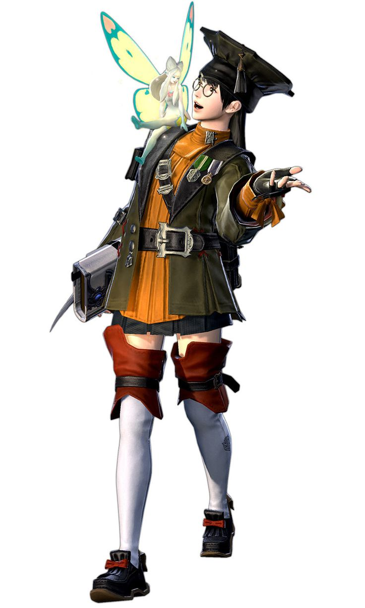 Hyur Scholar from Final Fantasy XIV: A Realm Reborn