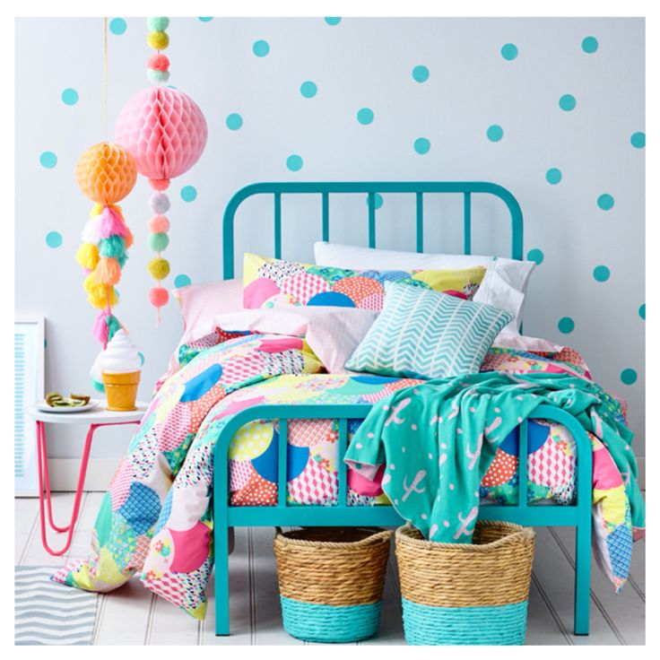 Those spots! Seriously gorgeous bedlinen from Adairs! For more inspiration visit www.tinytribemag.com