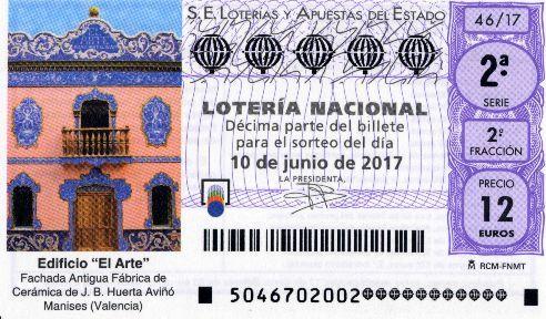 #LoteriaNacional resultados 10/6/2017
