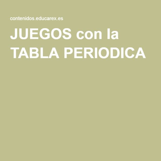 26 best Tabla Periódica images on Pinterest Periodic table - copy tabla periodica de elementos no metalicos