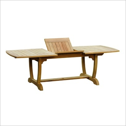 Raffles Single Extension Table Leblon Outdoor Design
