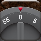 Egg Timer & Stopwatch  By Tod LLC    Realistic egg timer and stopwatch. Rotate the timer with two fingers, or use the Settings menu to set the time. Stopwatch counts milliseconds. Beautiful backgrounds include leather, carbon fiber, and wood.