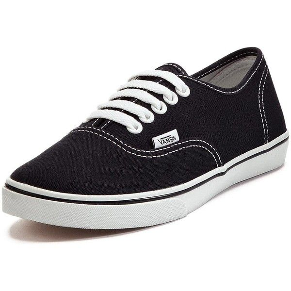 Vans Authentic Lo Pro Plimsolls (£50) ❤ liked on Polyvore