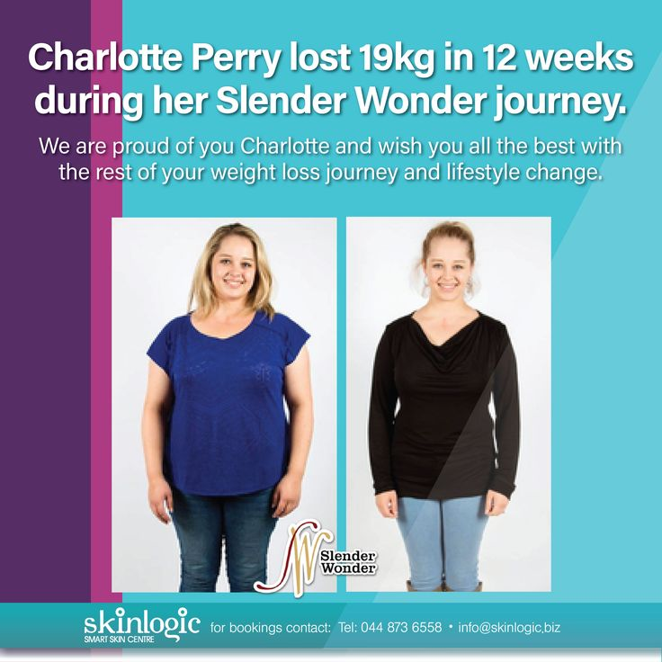 "Did you watch last nights episode of ""SLANK""? Charlotte Perry lost 19kg in 12 weeks during her Slender Wonder journey. We are proud of you Charlotte and wish you all the best with the rest of your weight loss journey and lifestyle change. For more information or bookings please contact info@skinlogic.biz #Slender Wonder #instadaily #bestoftheday #love #health #motivation #beautiful #instagood #aesthetics #SkinlogicSA #SkinHealth #Skin #Inspiration #Weightloss #Inspirational ##beautiful…"