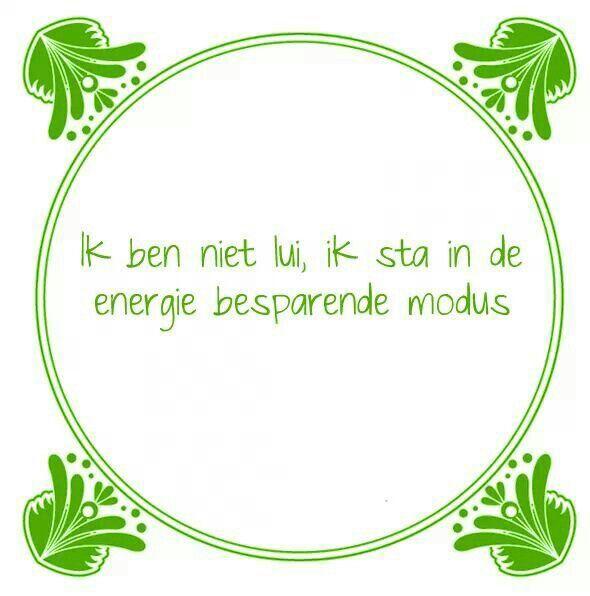 #lui #energiebesparing #spreuk #citaat #nederlands #teksten #spreuken #citaten #grappig