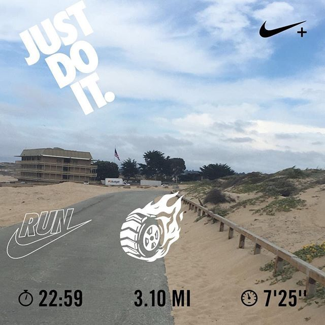 Ran 3.10 miles with Nike⁠+ Run Club finalmente es Viernes  #nikeplus #nikerunning #nrc #run i#instarun #motivation #montereybay #friday regresando poco a poco 🏃🏽🍺 #montereybaylocals - posted by Oscar Orozco https://www.instagram.com/running_the_mile - See more of Monterey Bay at http://montereybaylocals.com