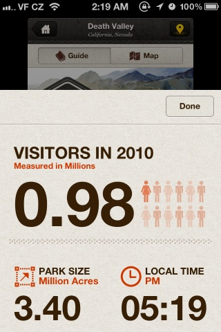 National Geographic National Parks app