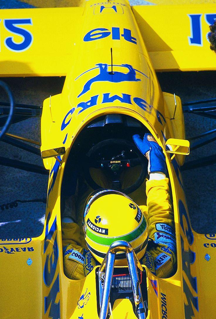 #Ayrton Senna