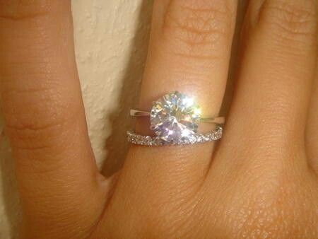 17 Best ideas about Circle Engagement Rings on Pinterest Circle