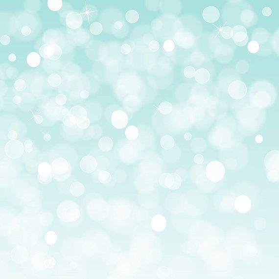 "White Digital Background Designs Aqua Dream 12x12""..."