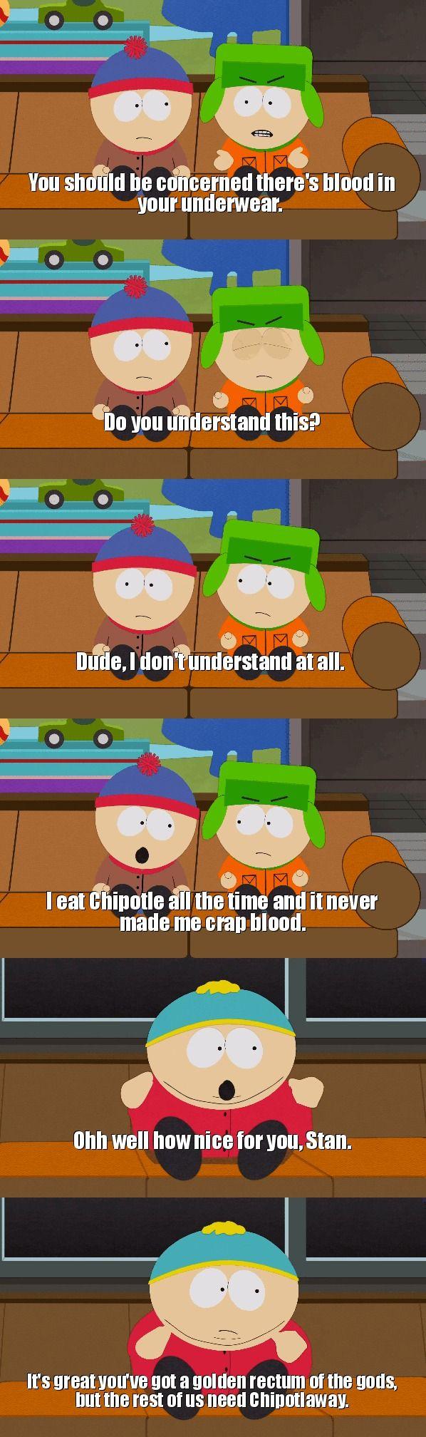 "South Park ""rectum of the gods"""