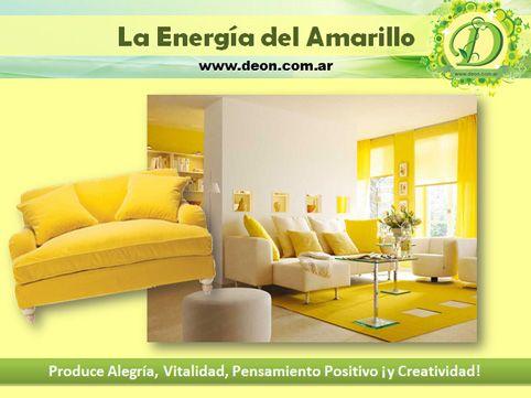 Cromoterapia y Aromaterapia: la energía del color amarillo y los Aceites Esenciales energizantes. Marina Deon www-deon.com.ar