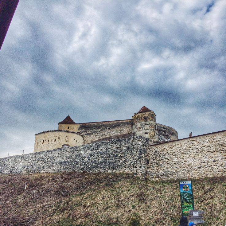 The city of Rasnov Fortress! ✌️