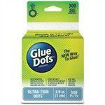 Glue Dots 3/8 Clear Dot Roll