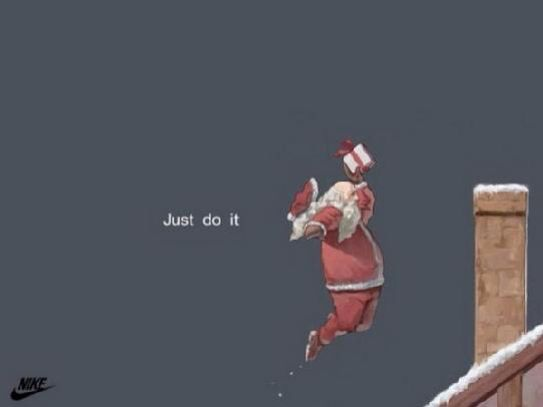 Nike does Christmas