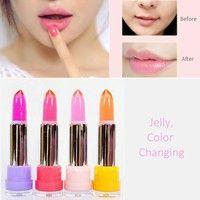 New Heng Fang Mood Jelly Lipstick Color Change Crystal Moisturizing