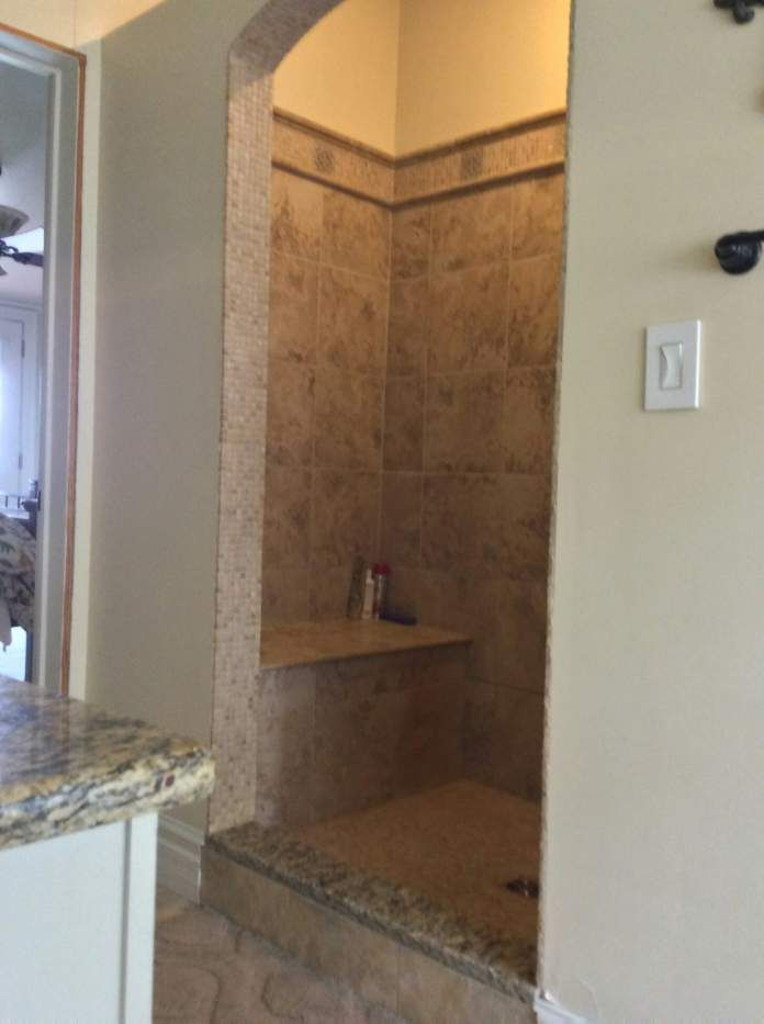 complete double wide remodel - bathroom after 2