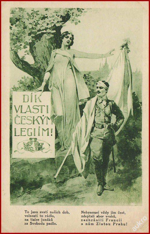 Armáda * Čs. legie, vlastenecká, propagační * A45 (6767948722) - Aukro - největší obchodní portál