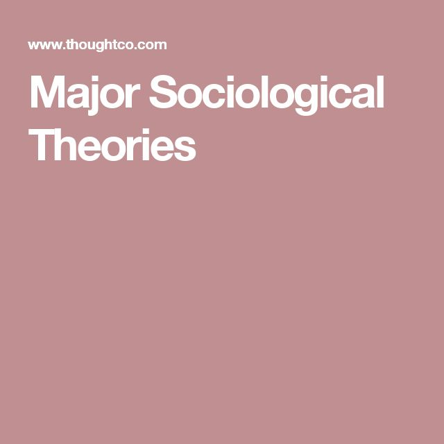 three major sociology theories Three major perspectives in sociology sociologists analyze social phenomena at different levels and from different perspectives 3 conflict theory macro.