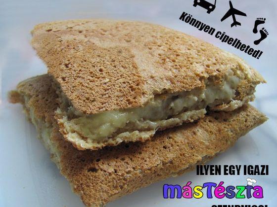 Igazi MásTészta szendvics   MásTészta