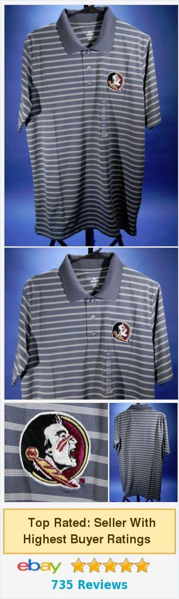 Men's Florida State Seminoles NCAA Polo Shirt NEW Medium's 38/40 KA  | eBay