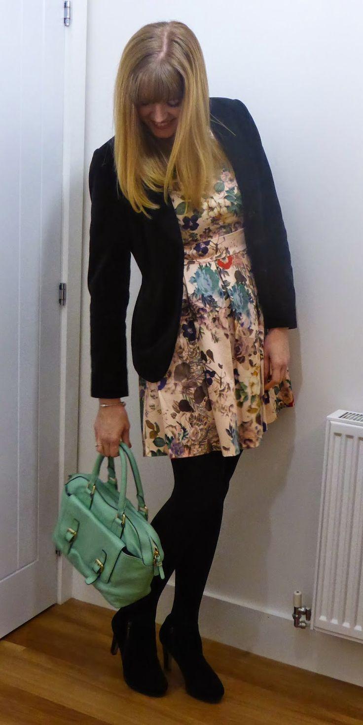 1000 ideas about floral skater dress on pinterest black