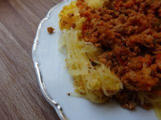 Zdravě jíst: 36/52: Zapečená špagetová dýně
